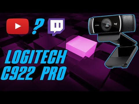 Logitech C922 PRO - gameplay? stream? wideokonferencja? żaden problem! / test, recenzja, review