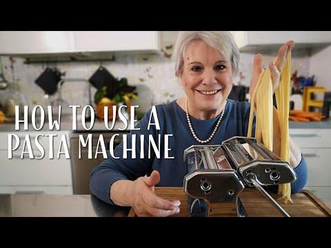 How to Use a Pasta Machine - Mamma Giuliana