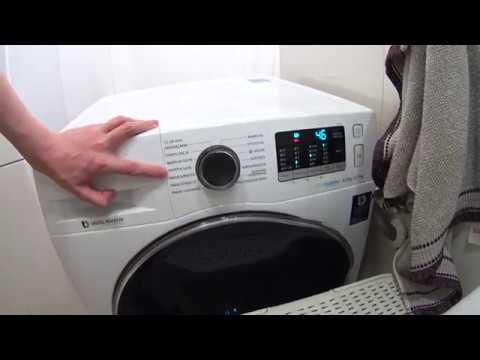 Pralko-Suszarka Samsung WD80J5A10AW Eco Bubble - Recenzja