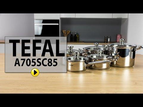 Zestaw garnków TEFAL DUETTO A705SC85