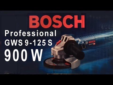 BOSCH GWS 9-125 S - 900 W # Szlifierka kątowa 900 W - regulacja obrotów