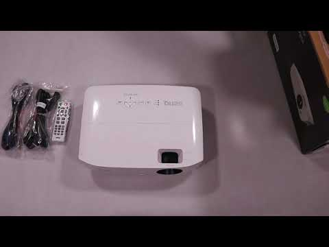 Unboxing BenQ TH534 DLP hands on (not a review)