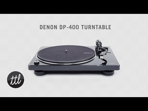Denon DP-400 / DP-450 Turntable Review + Setup Guide