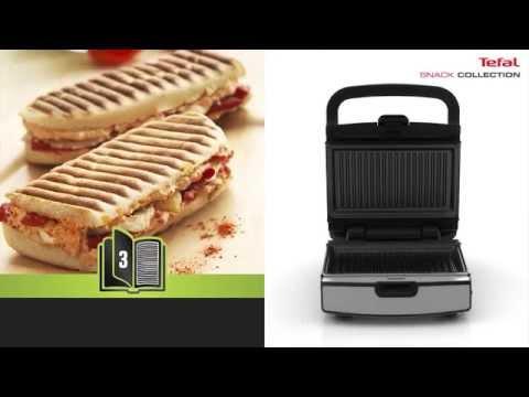 Tefal Snack Collection- przygotowanie Panini i grillowane kanapki
