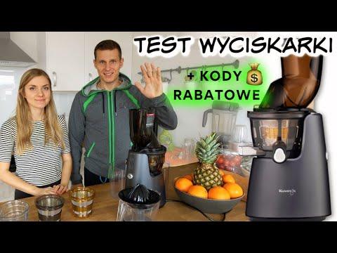 Test wyciskarki Kuvings D9900 - Zalety i Wady