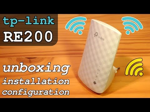 TP-Link RE200 Wi-Fi Extender Dual Band • Unboxing Installation Configuration