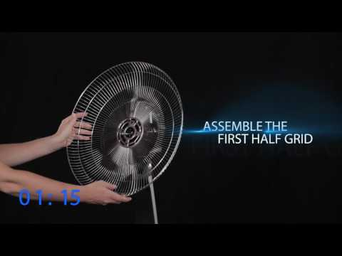 Rowenta Turbo Silence Extreme Stand Fan – Quick Start Guide