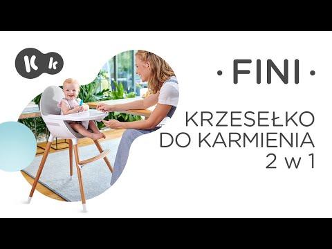 Krzesełko do karmienia 2 w 1 FINI Kinderkraft