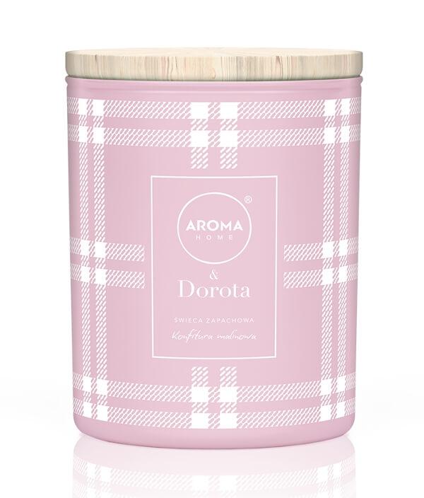 Świeca Aroma Home Dorota Konfitura Malinowa