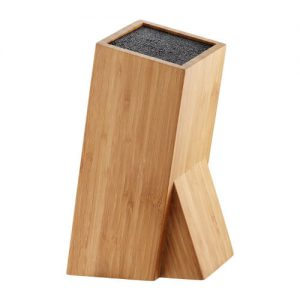 Drewniany blok na noże