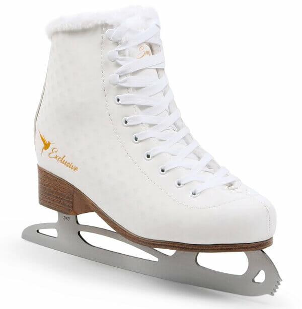 Drugie łyżwy z futerkiem SMJ Exclusive