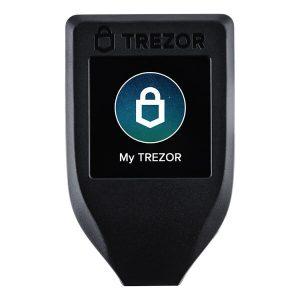 Portfel sprzętowy do kryptowalut Trezor T