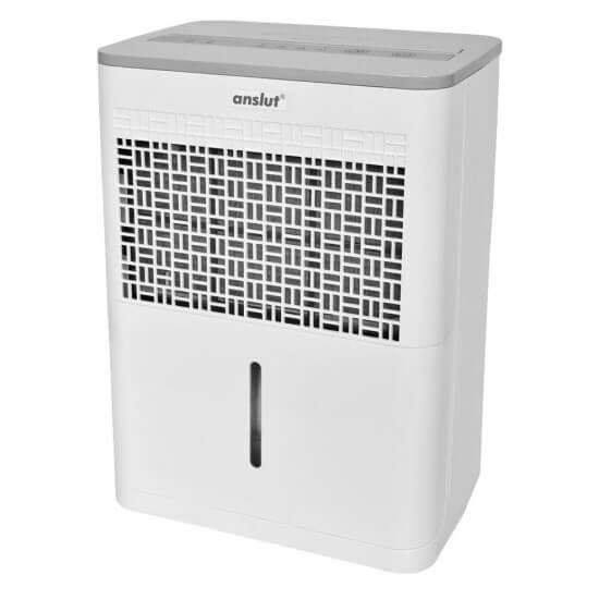 Osuszacz powietrza Anslut o wydajności 10l / 24h to jedna z najlepszych alternatyw do mniejszych mieszkań