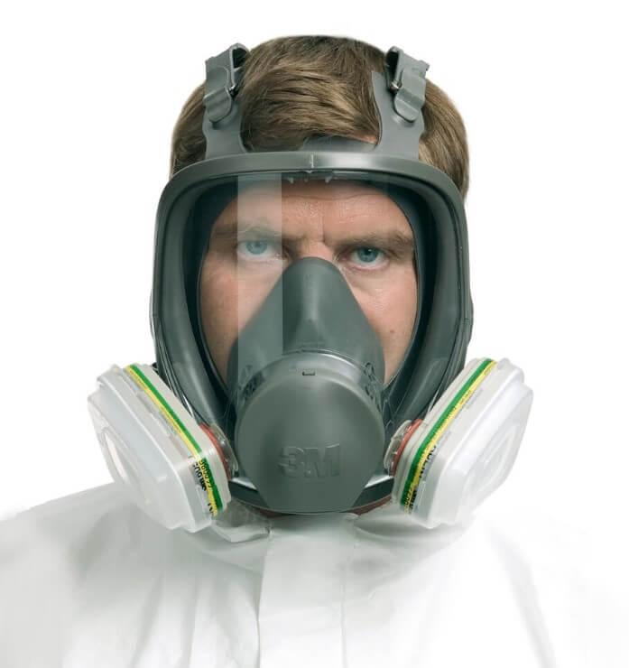 Maski całotwarzowe to najwyższa forma ochrony