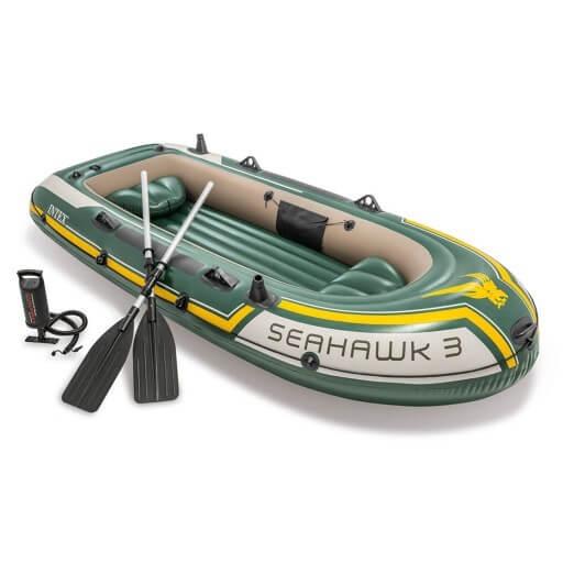 Ponton dmuchany Seahawk 3 to nasz ulubiony i najchętniej polecany ponton na ryby